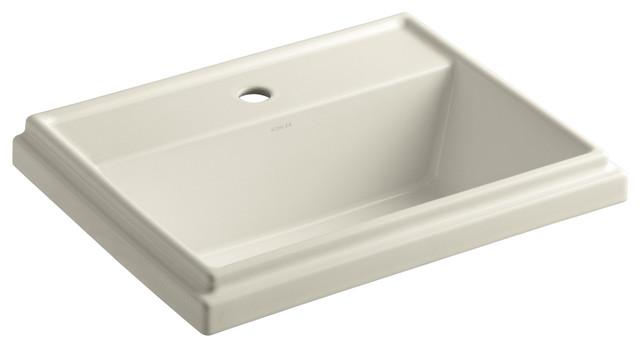 KOHLER K-2991-1-47 Tresham Rectangle Self-Rimming Lavatory contemporary-bathroom-sinks