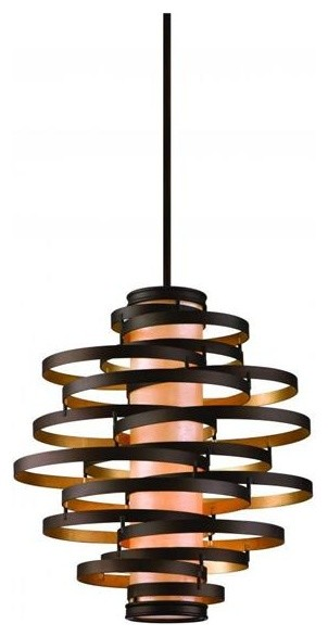 Corbett Lighting 113-44-F Vertigo 4 Light Pendant Fluorscent contemporary pendant lighting