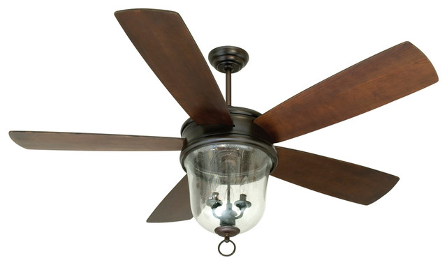 craftmade fb60obg5 60 quot ceiling fan with blades and light