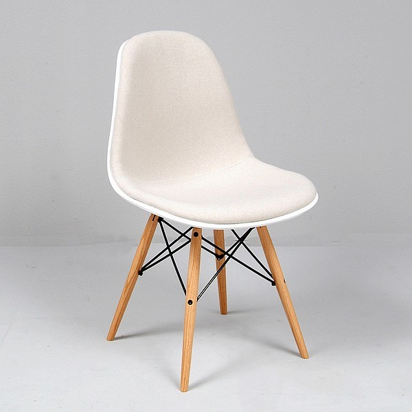 Eames Molded Fiberglass Side Chair Reproduction
