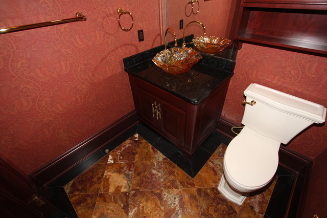 Powder Room traditional-bathroom