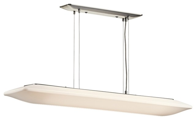 "Contemporary Kichler Ara Collection ENERGY STAR 43"" Wide Ceiling Light contemporary-chandeliers"