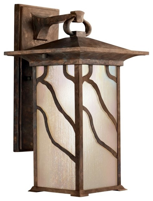 KICHLER Morris Arts and Crafts/Mission Outdoor Wall Sconce X-OCD1309 traditional-outdoor-wall-lights-and-sconces