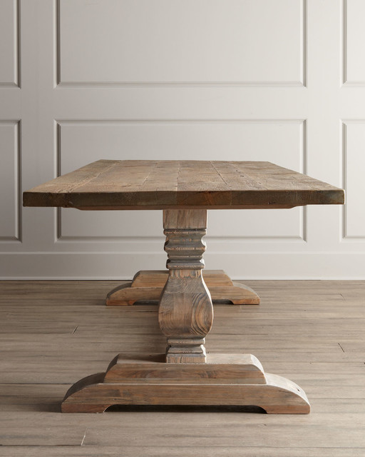 Natural Dining Table Traditional Dining Tables Other Metro By