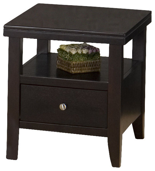 Jofran Marlon 24x22 End Table contemporary-side-tables-and-end-tables