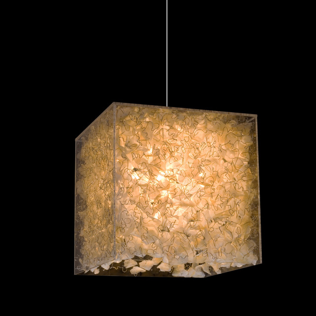 Hive Lux Hanging Lamp modern-chandeliers