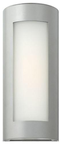Narrow Wall Sconces For Bathroom : Solara Narrow Outdoor Wall Sconce by Hinkley Lighting - Modern - Bathroom Vanity Lighting - by ...