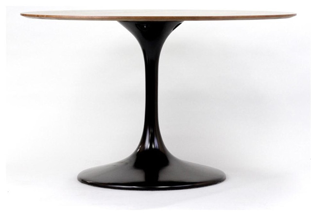Dusk Dining Table in Black and Wood dining-tables