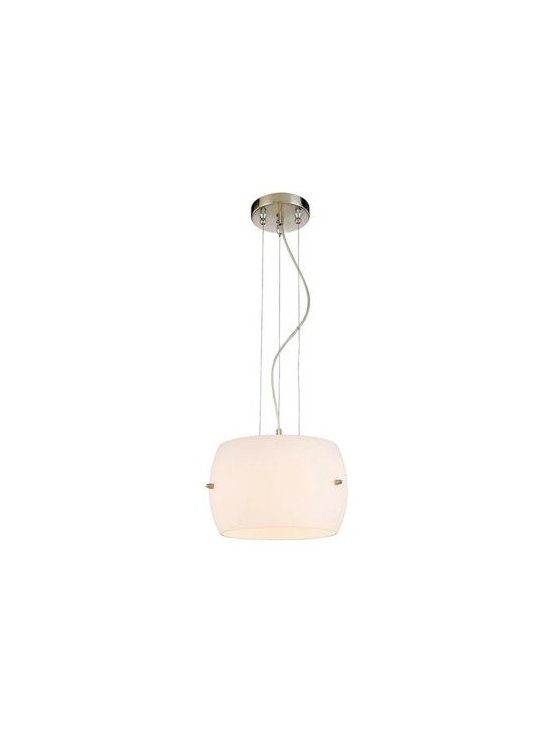 George Kovacs White Frosted Glass 7 1/2-Inch-H Pendant Light -