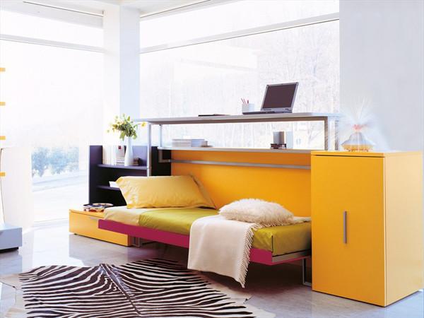 Cabrio In: Desk and Bed contemporary