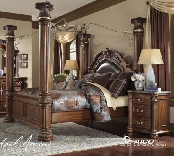 king poster bedroom set in ca transitional bedroom furniture sets