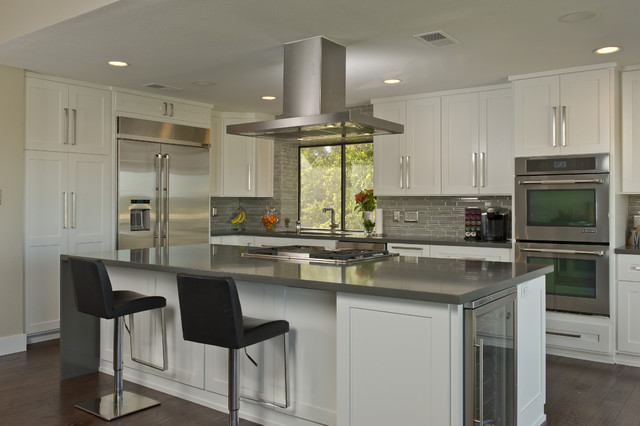 Twin Valley Remodel contemporary kitchen