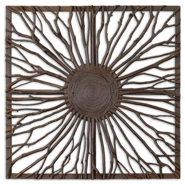 www.essentialsinside.com: josiah square, branches wall art contemporary-artwork