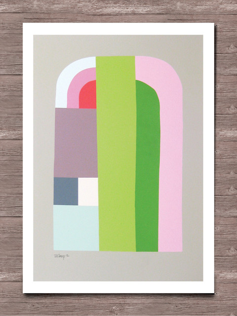 Arches Print contemporary-artwork