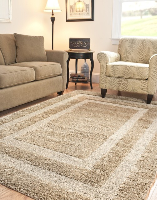Safavieh florida shag sg454 beige beige area rug for Throw rug on top of carpet