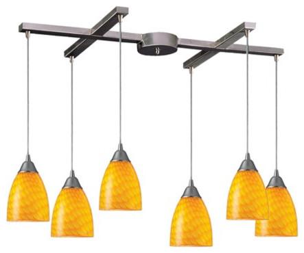arco baleno 6 light kitchen island pendant track lighting