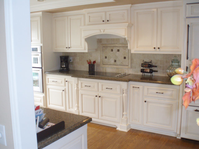 face frame style custom kitchen cabinets traditional
