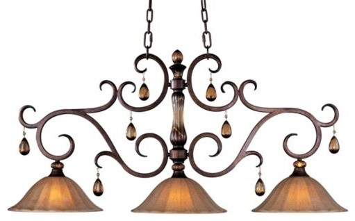 Dresden Linear Suspension traditional-pendant-lighting