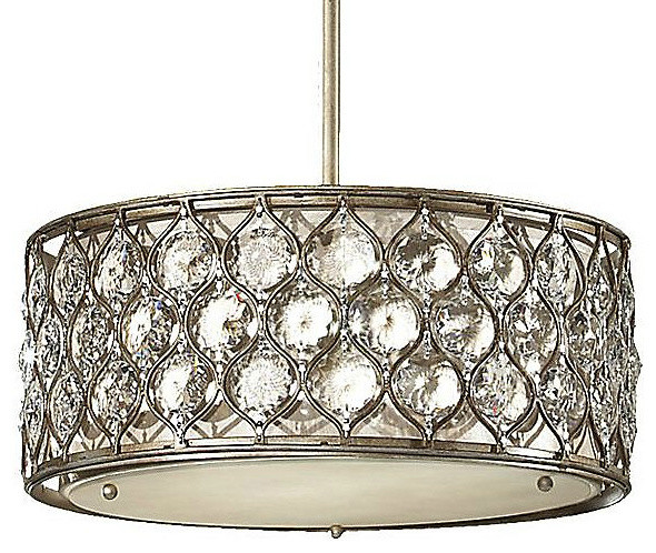 Lucia Drum Pendant eclectic-pendant-lighting