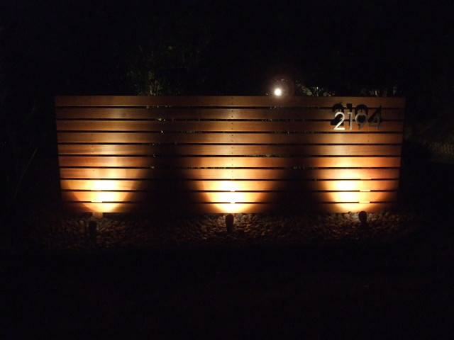 Horizontal wood fence modern home fencing and gates