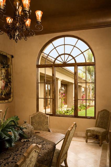 Wood Casement, Picture & Transom Window mediterranean-windows