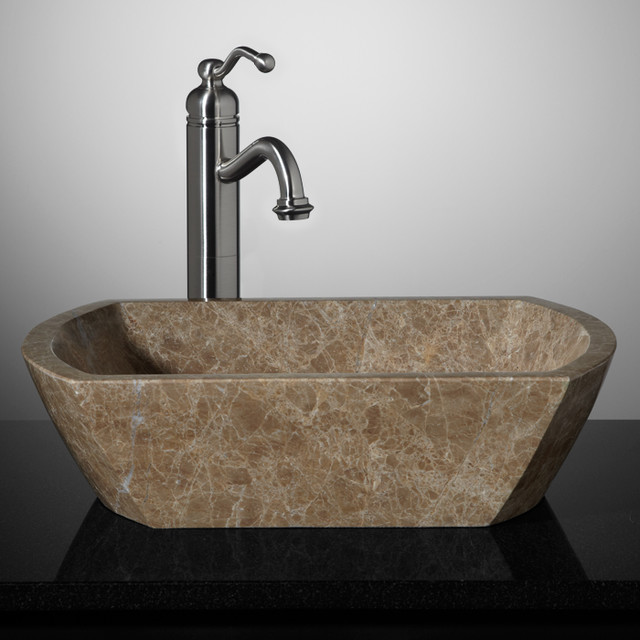 New stone vessel sinks bathroom sinks cincinnati by for Latest bathroom sinks