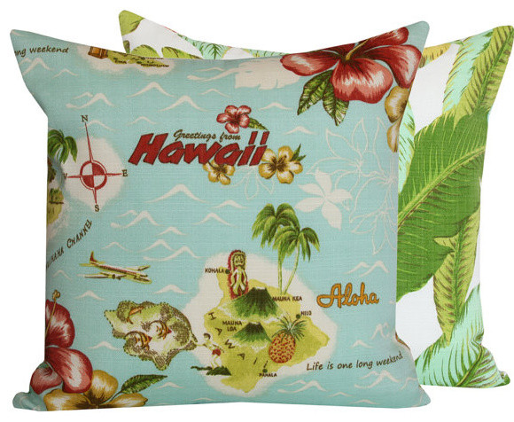 Aloha From Hawaii Collection l Chloe and Olive tropical-decorative-pillows
