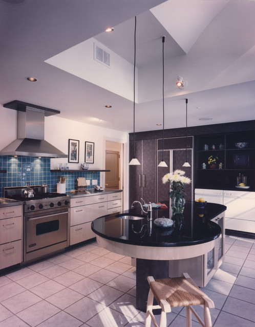 1950's Ranch House contemporary-kitchen