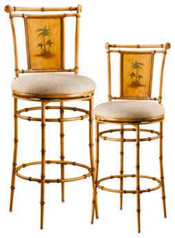 West palm stool tropical bar stools and counter stools - Bed bath and beyond palm beach gardens ...