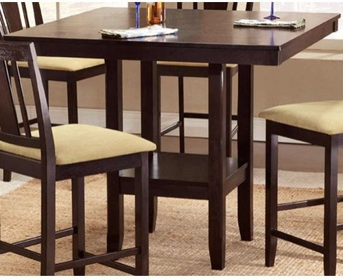 Hillsdale Frankfort 7-Piece Fabric Dining Set traditional dining tables