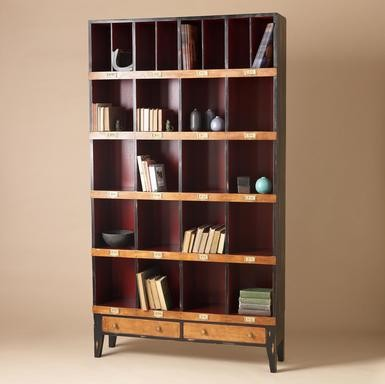 Tall Draper's Cabinet - Eclectic - by Sundance Catalog