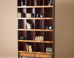 Tall Draper's Cabinet eclectic-storage-cabinets