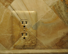 Painted switch plates traditional