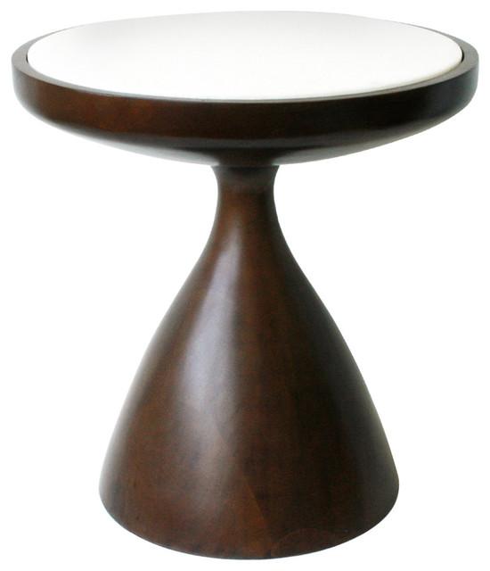 Jonathan adler short buenos aires table modern side for Short end table