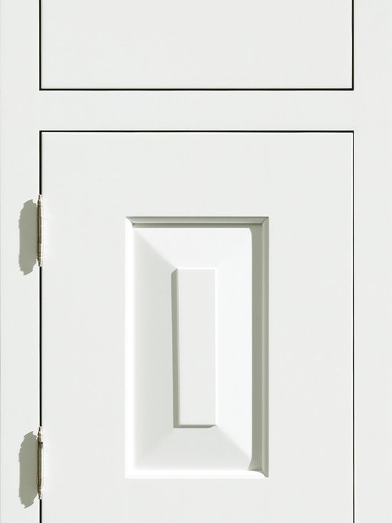 """Dura Supreme Cabinetry - Dura Supreme Cabinetry Bella Inset Cabinet Door Style - Dura Supreme Cabinetry """"Bella"""" inset cabinet door style in Paintable shown in Dura Supreme's """"White"""" paint finish with the optional solid drawer front. (With non-beaded frame)"""