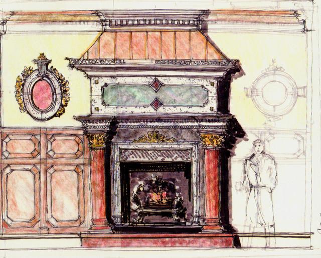 Victorian Style Foyer : Eclectic mediterranean victorian interior design foyer w