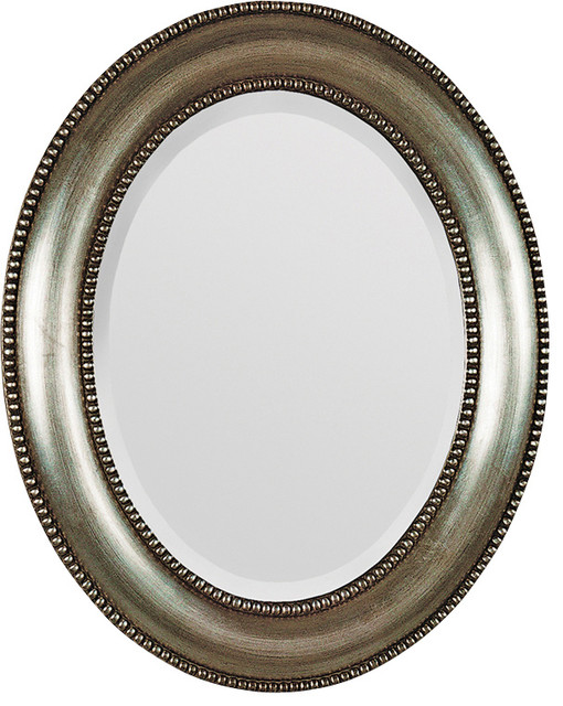Ren-Wil MT677 Portrait Mirror in Silver traditional-wall-mirrors