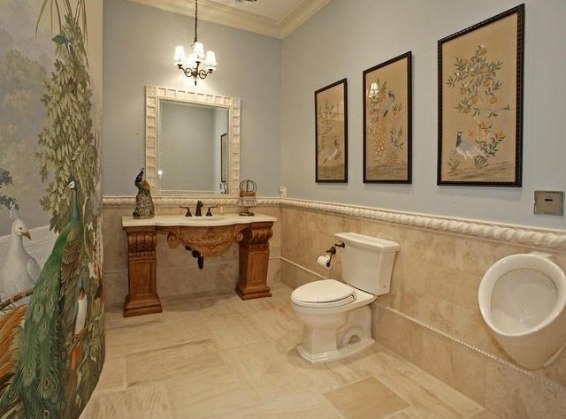 BIRDY POWDER ROOM tropical