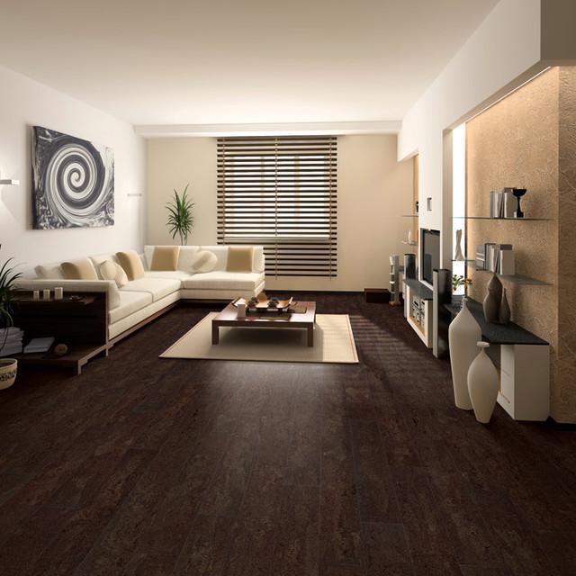 Cork floor flooring