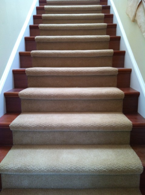 Stairs - Traditional - Staircase - san francisco - by Precision Flooring