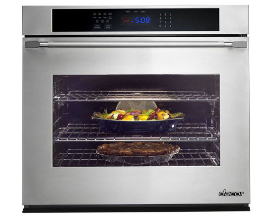 "Dacor 30"" Single Electric Wall Oven Stainless Steel W/ Chrome Trim 