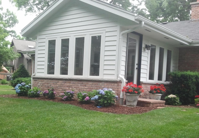 Small Sunroom Addition In Muskego Wi Traditional