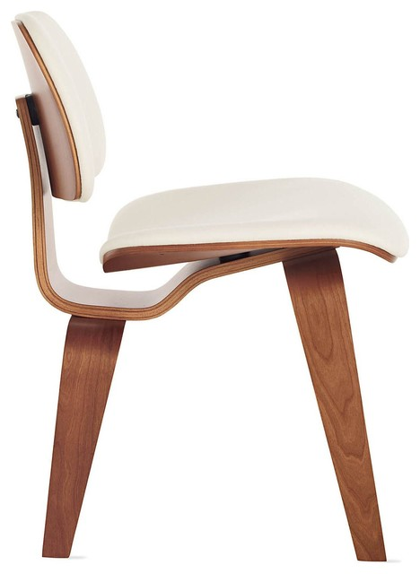 Eames Upholstered Molded Plywood Dining Chair DCW Modern Dining Chairs