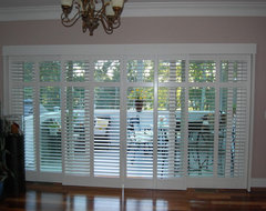 Plantation Shutters traditional-porch