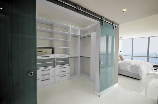 Amazing Modern Walk In Closet Modern Walk In Closets Contemporary Rendering Miami By Armadi