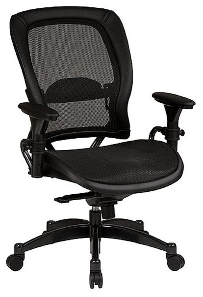 Ergonomic Office Chair W Adjustable Arms Mat Contemporary Office Chairs