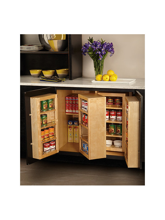 Base Pantry Cabinet - Store food where it's easy to view and access and you'll never run out of pasta again.