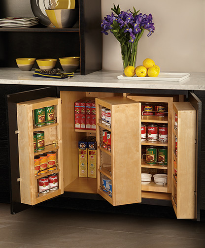 Kitchen Pantry Storage Solutions: By Mid Continent Cabinetry
