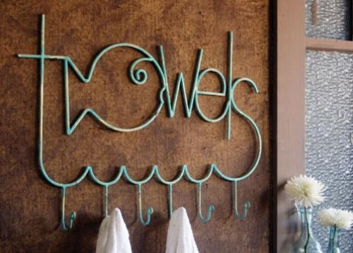 Fish 'Towels' Rack eclectic-towel-bars-and-hooks