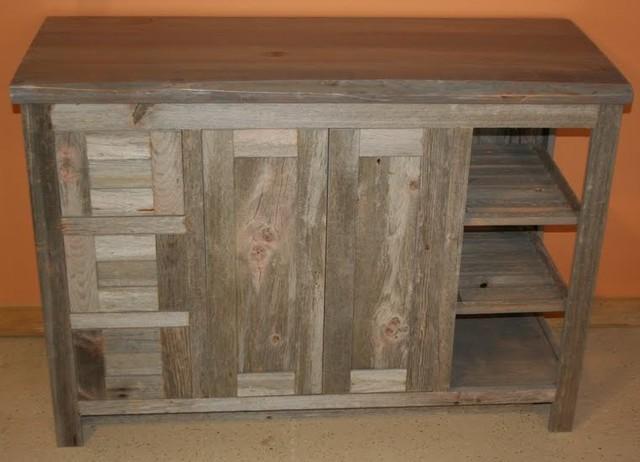 Luxury Reclaimed Barn Wood Vanity